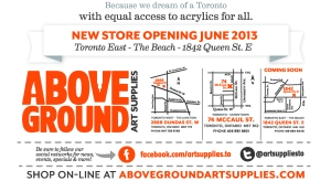 Above Ground Art Supplies